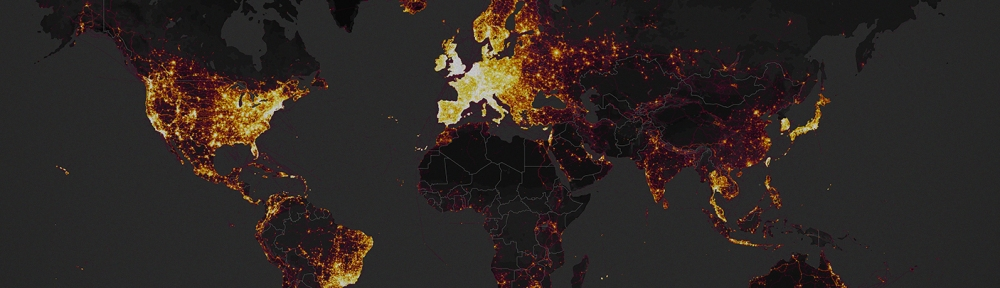 Mapas de calor de strava